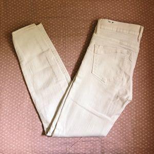 Express Ankle Legging White Jeans